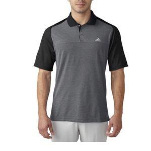 Adidas Aeroknit Blocked Polo Men's Golf Shirt SZ L